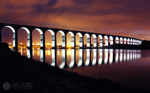 The Royal Border Bridge Berwick