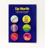 Up North Collection Badges
