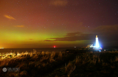 Whitley Bay & The Northern Lights