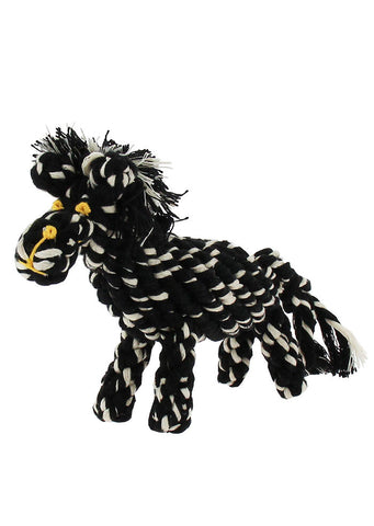 Ziggy the Zebra Rope Toy