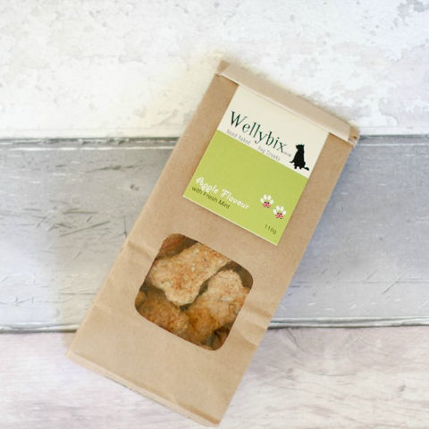 Apple with Fresh Mint Dog Biscuits Dog Biscuits 110g