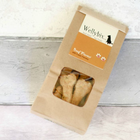 Beef Flavour with Fresh Parsley Dog Biscuits 110g