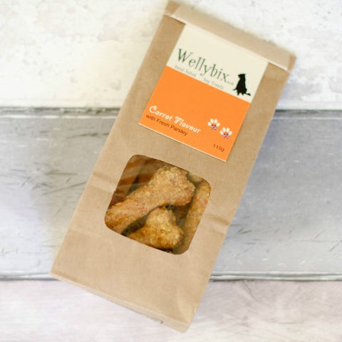 Carrot with Fresh Parsley Dog Biscuits 110g