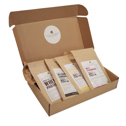 Whey Protein Sample Box (4 x 40g)