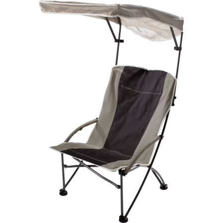 Pro Comfort High Shade Canopy Chair Low to Ground Beach Chair - Buy Online at YardEpic.com