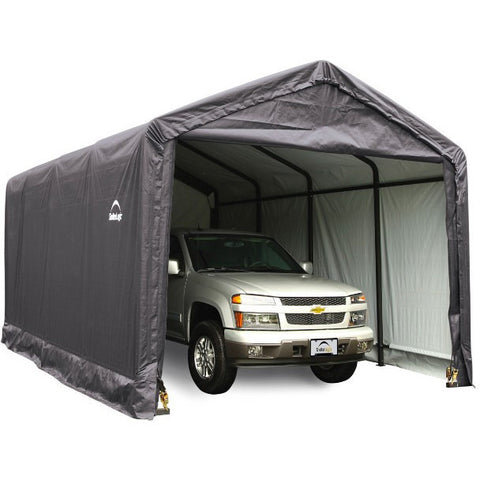 12x20x11 Storage Shelter, ShelterTUBE Grey or Green Cover - Buy Online at YardEpic.com