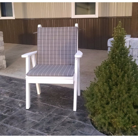 Traditional English Chair in Pine Wood - Buy Online at YardEpic.com