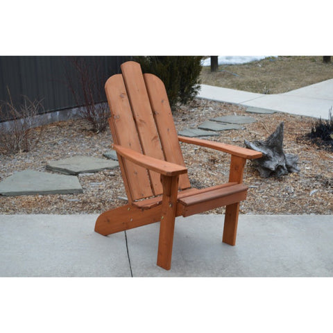 Mountain Adirondack Chair in Cedar - Buy Online at YardEpic.com