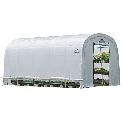 12x20x8 Heavy Duty Greenhouse - Rounded Roof - Buy Online at YardEpic.com