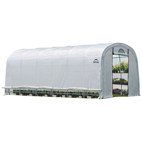 12x24x8 Rib Round Style Greenhouse - Buy Online at YardEpic.com