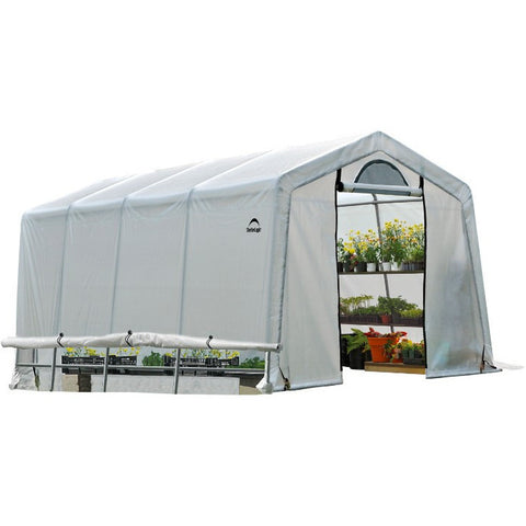 10x20x8 ft. Rib Peak Style Grow It Greenhouse-in-a-Box - Buy Online at YardEpic.com