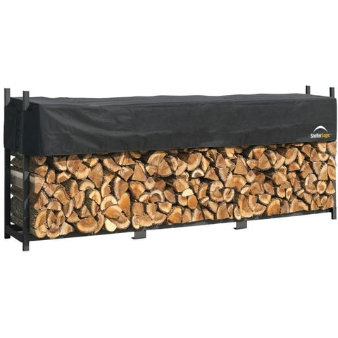 12 ft. Ultra Duty Firewood Rack and Optional Cover - Buy Online at YardEpic.com