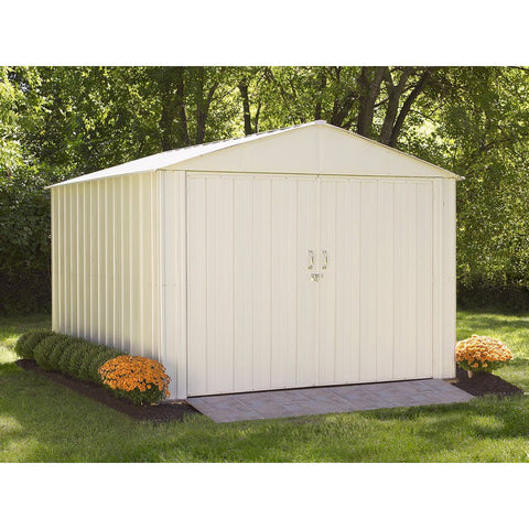 Commander Shed, 10x10, Steel, Extra Wide Swing Doors - Buy Online at YardEpic.com