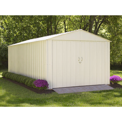 Commander Shed, 10x20, Steel, Extra Wide Swing Doors - Buy Online at YardEpic.com