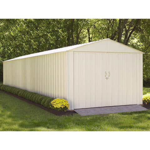 Commander Shed, 10x30, Steel, Extra Wide Swing Doors - Buy Online at YardEpic.com