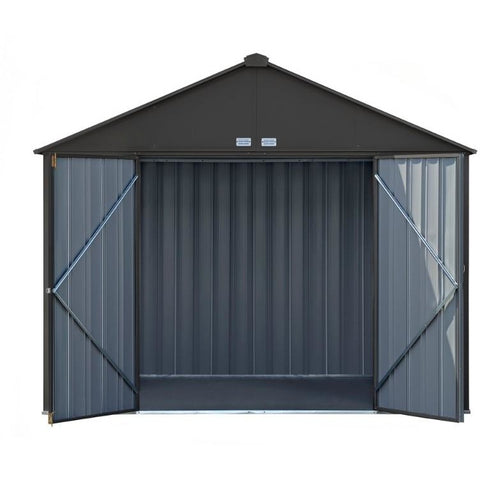 10x8 EZEE Shed Extra High Gable with Vents - Fast Assembly - Buy Online at YardEpic.com