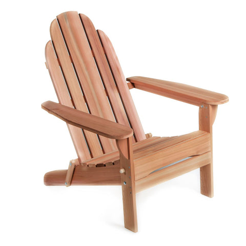 Folding Andy Chair Aidirondack Style Red Cedar Wood