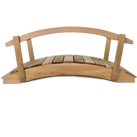 4 ft Bridge with Rails FB48U-R - All Things Cedar - Buy Online at YardEpic.com