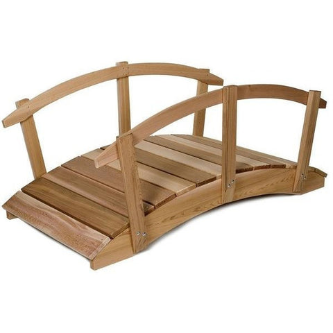 8ft Bridge with Rails FB96U-R - All Things Cedar - Buy Online at YardEpic.com