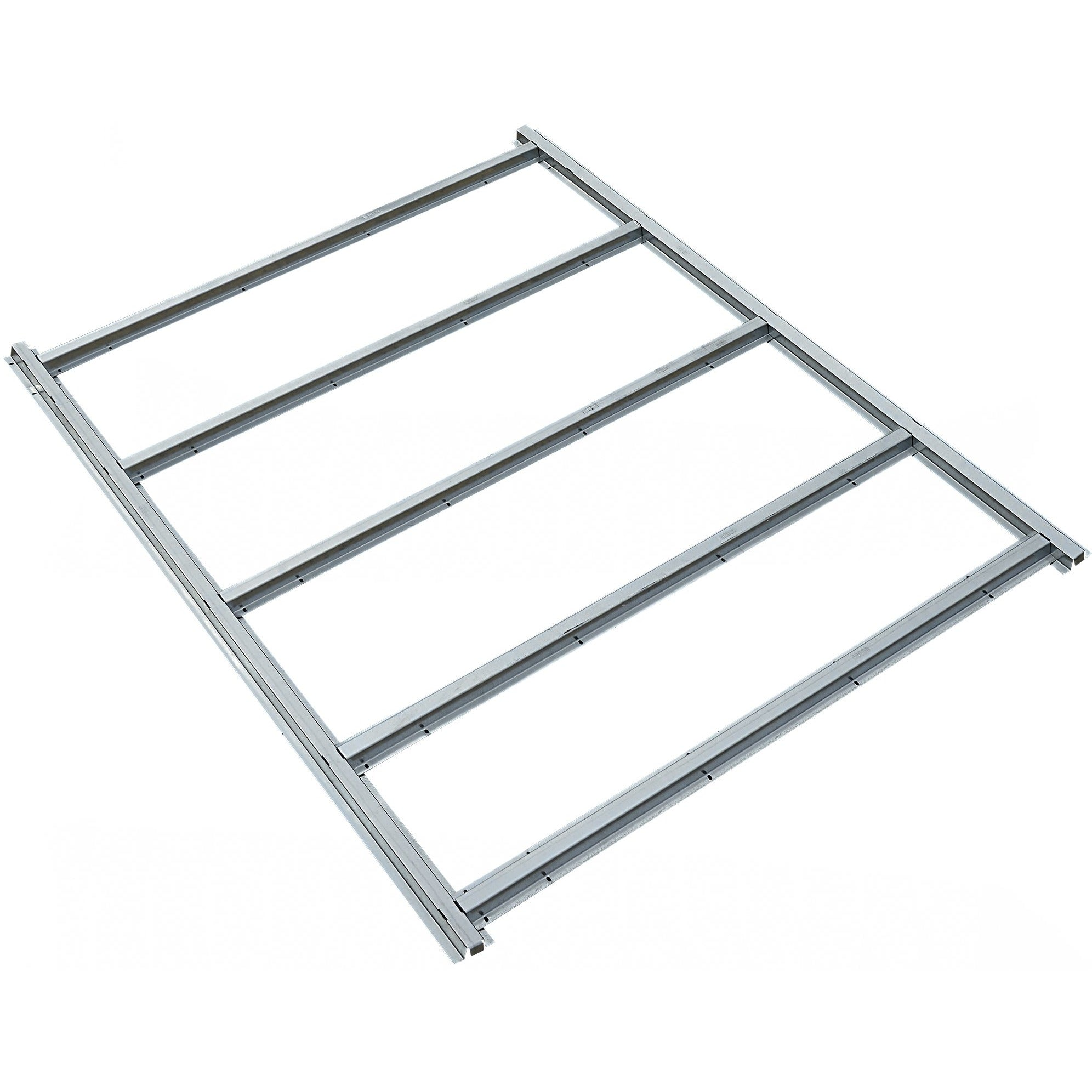 EZEE Shed Floor Frame Kit Steel Ground Barrier for 6x5, 8x7, 10x8 ...