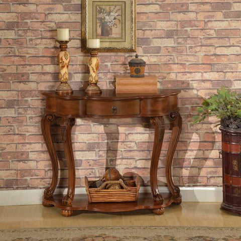 Old World Stylish Entry Table