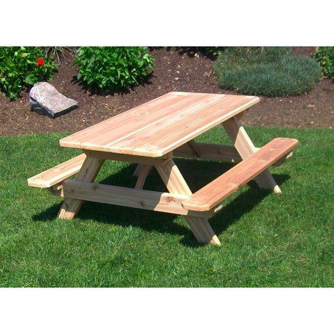 "Kid's Table (22"" Wide) in Cedar Wood - Buy Online at YardEpic.com"