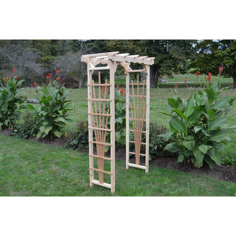 Concord Arbor in Cedar - Buy Online at YardEpic.com