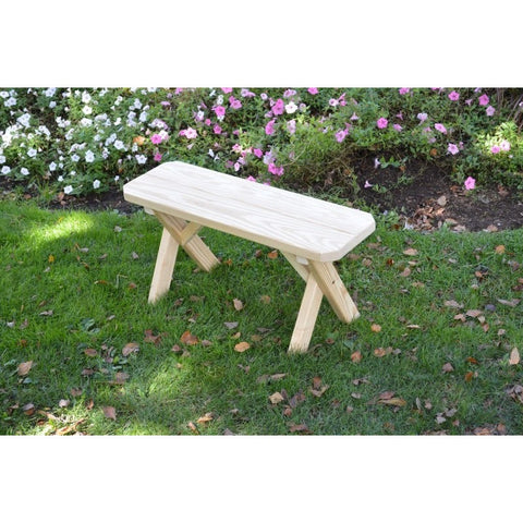 Traditional Bench Only Pressure Treated Pine - Buy Online at YardEpic.com