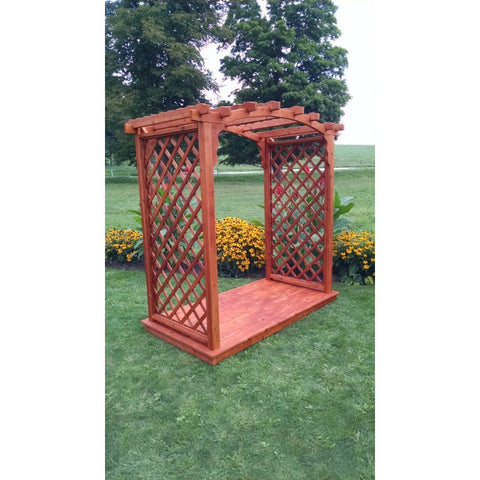 Jamesport Arbor & Deck in Cedar - Buy Online at YardEpic.com