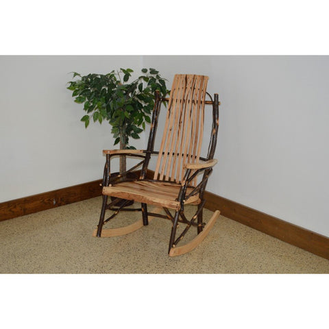 Hickory 9-Slat Rocking Chair - Buy Online at YardEpic.com