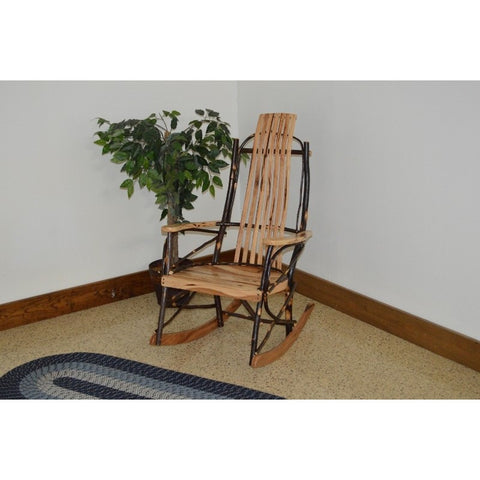 Rustic Hickory Rocking Chair - Buy Online at YardEpic.com