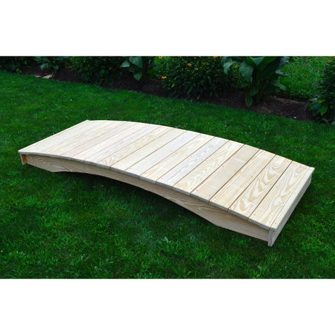 Plank Garden Bridge in Pine - Buy Online at YardEpic.com