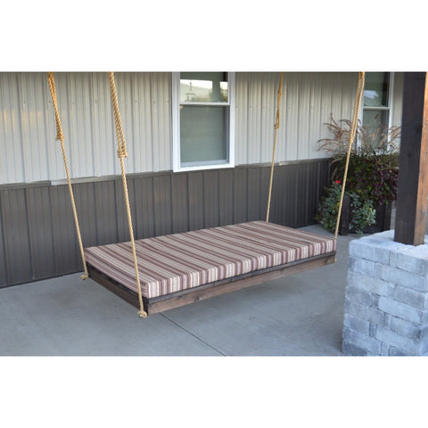 "75"" Cedar Newport Swing Bed (Rope Included) - Buy Online at YardEpic.com"