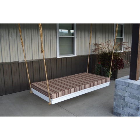 "75"" Pine Twin Size Newport Swing Bed (Rope Included) - Buy Online at YardEpic.com"