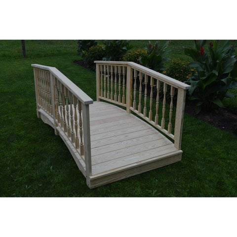 3 & 4 Ft. Wide Spindle Bridge in Pressure Treated Pine - Buy Online at YardEpic.com