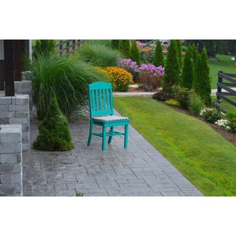 Classic Outdoor Dining Chair HDPE Poly - Buy Online at YardEpic.com