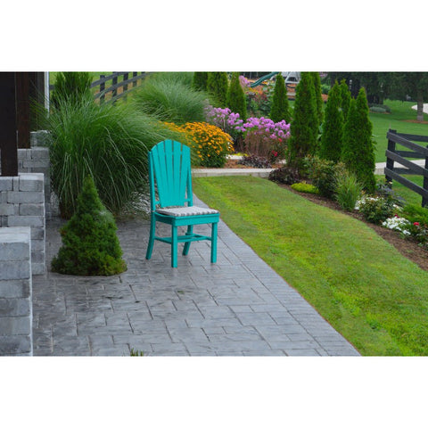 Outdoor Adirondack HDPE Poly Deck Dining Chair - Buy Online at YardEpic.com
