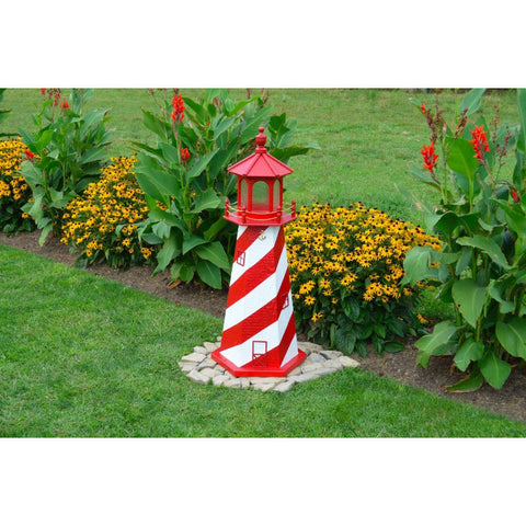 White Shoal, Michigan Replica Lighthouse - Buy Online at YardEpic.com