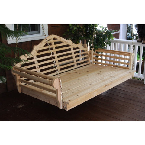 Marlboro Swingbed in Red Cedar Wood - Buy Online at YardEpic.com