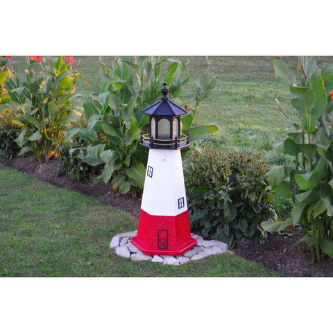 Vermillion, Ohio Replica Lighthouse - Buy Online at YardEpic.com