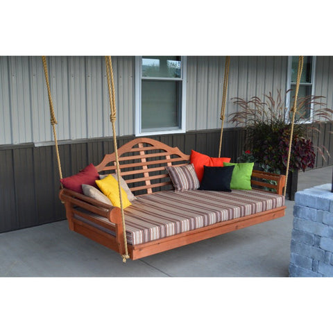 "75"" Twin Mattress Marlboro Swingbed in Cedar - Buy Online at YardEpic.com"