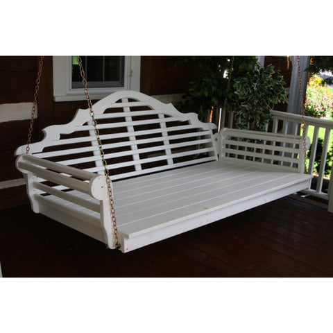 "75"" Twin Mattress Marlboro Swingbed in Yellow Pine - Buy Online at YardEpic.com"
