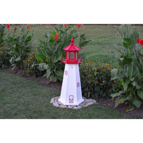 Cape May, New Jersey Replica Lighthouse - Buy Online at YardEpic.com