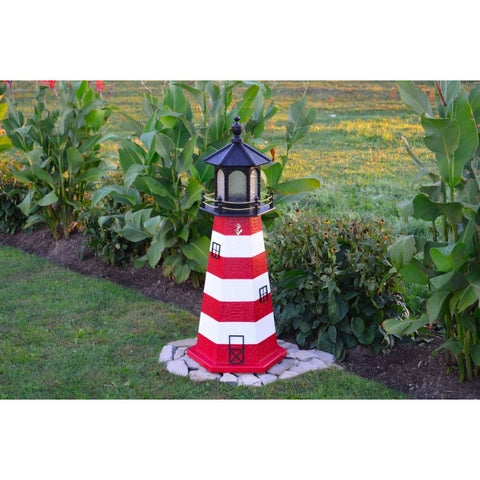 Garden Yard Lighthouse - Assateague, Virginia Replica - Buy Online at YardEpic.com