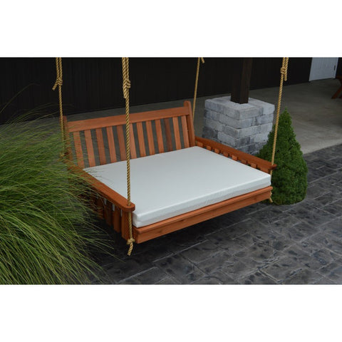 "4 Foot Swing Bed Cushion (2"" or 4"" Thick) - Buy Online at YardEpic.com"