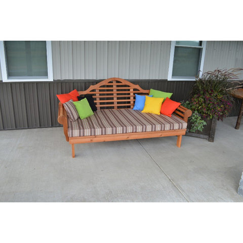 "75"" Marlboro Daybed in Cedar - Buy Online at YardEpic.com"