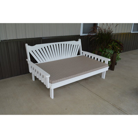 Fanback Daybed in Yellow Pine Wood - Buy Online at YardEpic.com