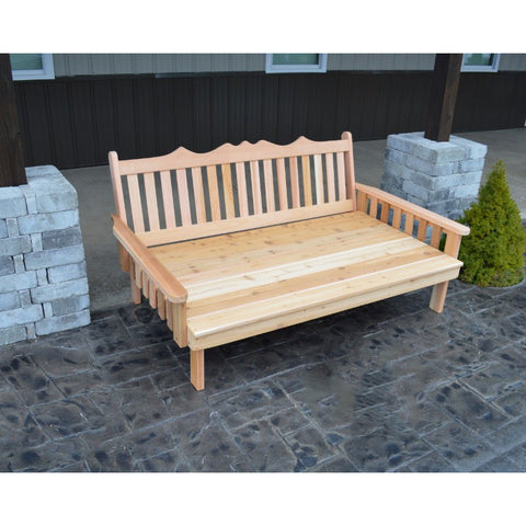 Royal English Garden Daybed in Cedar - Buy Online at YardEpic.com