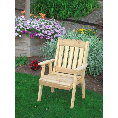 Royal English Chair in Cedar - Buy Online at YardEpic.com