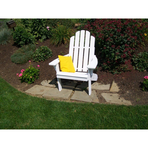 Kennebunkport Adirondack Chair in Yellow Pine - Buy Online at YardEpic.com